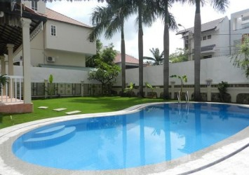 Compound villa for rent in Thao Dien District 2