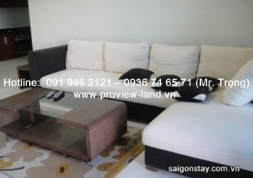 Penthouse The Manor apartment for rent in Binh Thanh district HCMC