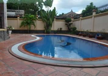 Luxury villa for rent in Thao Dien District 2, Tran Ngoc Dien Street
