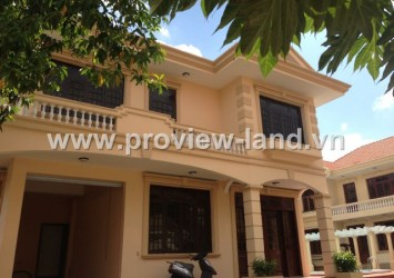 Villa for rent in Thao Dien District 2 at Tu Quy Compound