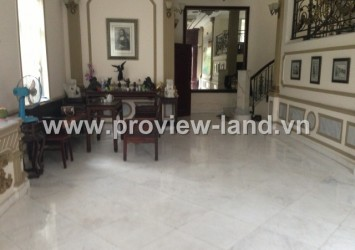 Villas for rent in Thao Dien District 2 cheap price the compound