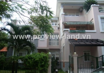 Villa in Phu My Hung District 7 for rent with fully furnished