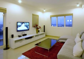River Garden apartment for rent in HCMC nice furnished 3 bedrooms