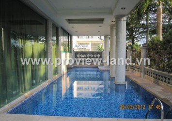 Villa with fully furnished for rent in Phu My Hung, District 7