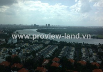 Apartment for rent in The Vista nice river view