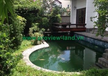 Villa for rent in Compound Riviera villas area - Thao Dien Villa in District 2