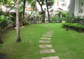 Quaternary Villa for rent at Phu My Hung in District 7 HCMC