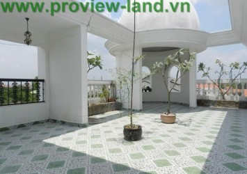 Beautiful Villa for rent in Thao Dien luxurious interior