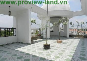 Beautiful Villa for rent in Thao Dien luxurious interior