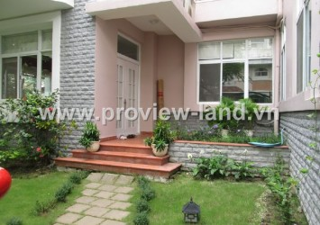 Villas for rent in Phu My Hung District 7, villa for rent in Phu Gia
