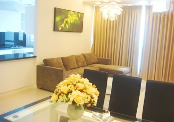 Sunrise City Apartment for rent in D7 with 3 bedrooms furnished and good price