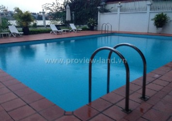 Villa for rent in Thao Dien District 2 protected swimming pool, furnished