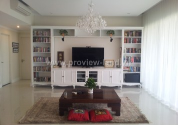 Apartment for rent in District 2 The Estella, European furniture beautiful with 3 bedrooms