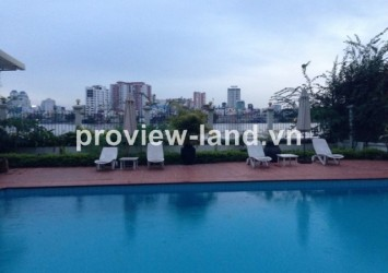 Compound Villa for rent in Thao Dien area 400sqm