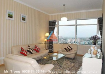Apartment for rent in Topaz tower Saigon Pearl