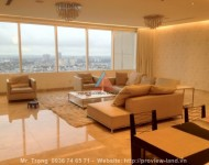 Apartment penthouse for rent in Saigon Pearl cheap price