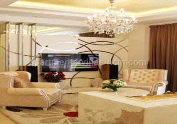 Sky Villa in Sunrise City for rent District 7, luxurious interior