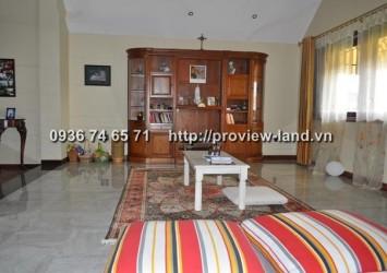 600sqm villa for rent at Nguyen Van Huong - Thao Dien