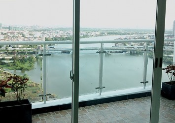 Penthouse for rent in Hoang Anh Riverview Thao Dien - District 2