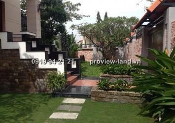 570sqm villa Thao Dien for rent at Nguyen Van Huong St.