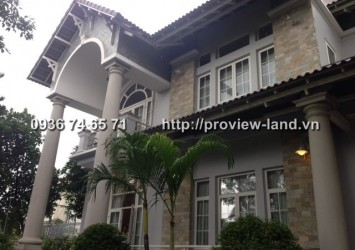 750sqm villa Thao Dien for rent in District 2