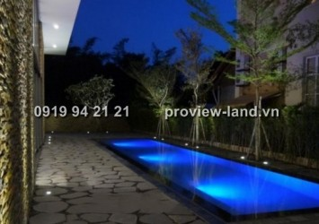 Very nice interior villa for rent in Thao Dien