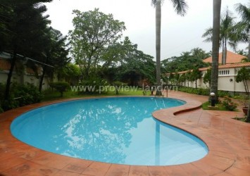 Beautiful villa for rent in Thao Dien Compound area District 2
