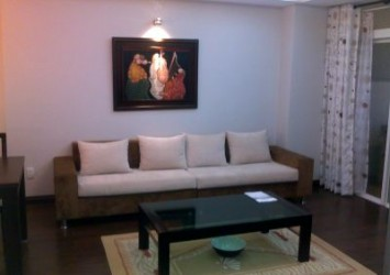 An Phu Plaza Condonium in District 3 for rent, 2 beds, fully furnished