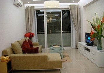 Apartment for rent in District 3 An Phu Plaza, 3 beds, fully furnished