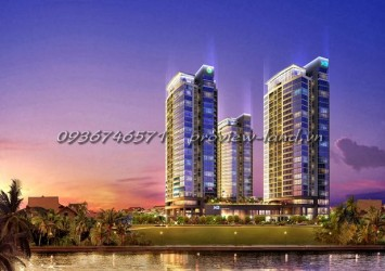 Apartments for rent in XI River View Palace 3 bedrooms nice furniture