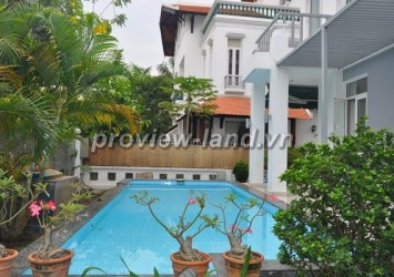 House for rent in Thao Dien 400sqm with pool and garden