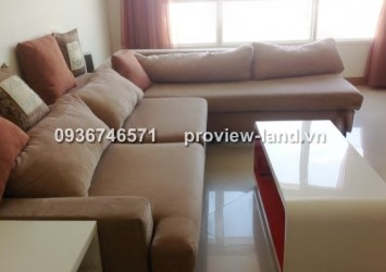 2 bedrooms The Manor apartment for rent view Van Thanh Lake