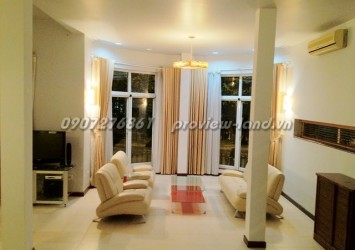 Lan Anh villa for rent with 4 bedrooms, security area in district 2