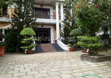 Thao Dien villa for rent 2000m2 with pool and beautiful garden