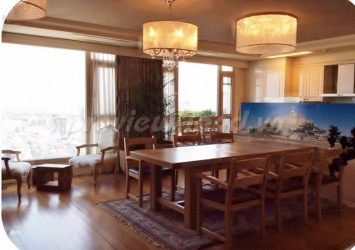 4 bedroom penthouse apartment for rent Cantavil Hoan Cau