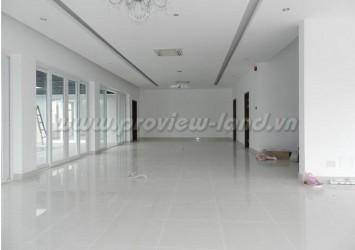 Villa for rent on Nguyen Van Huong Street 1ground floor and 1 floors with 5 bedroom