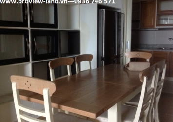 Apartment for rent in The Manor view Nguyen Huu Canh Street and District 1