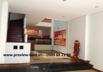 Townhouse for rent at Tran Thien Chanh Street, District 10
