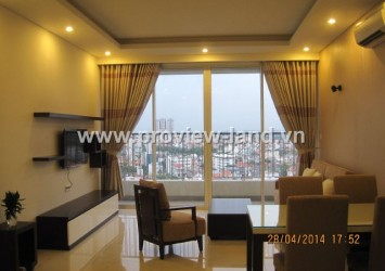 Apartment for rent in Thao Dien Pearl with nice balconies