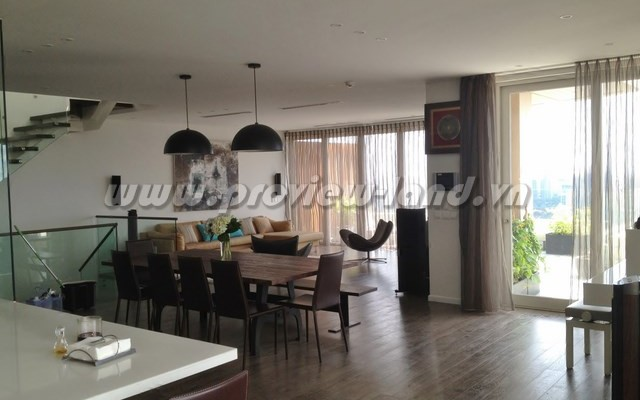 Saigon Pearl duplex apartment 5 bedroom rental agreement