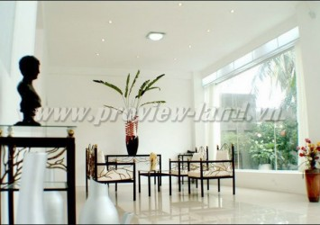Nice house for rent in compound Tran Nao with 3 bedrooms luxury furnished