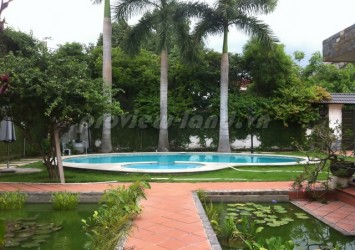 Villa rental 1800sqm residential 100% pool and garden