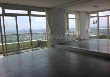 4 bedroom Duplex Apartment for rent in Saigon Pearl nice view