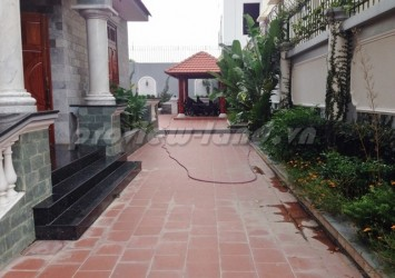 Thao Dien villa for rent 1000sqm with 4 bedrooms location frontage Nguyen Van Huong St.,