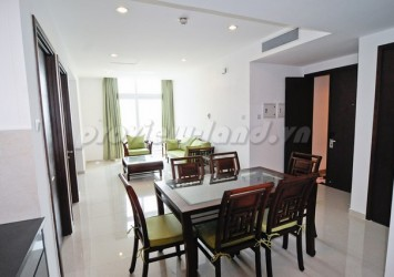 Ben Thanh Luxury apartment for rent 2 bedroom beautiful interior