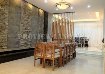 Villa for rent in Saigon Pearl 7x21m luxury villa beautiful designed