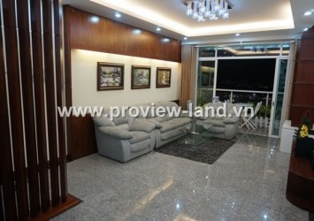 Apartment for rent in Hoang Anh RiverView 3 bedrooms view highway