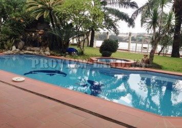 Villa for rent in Thao Dien river view 4 bedrooms, pool and nice view