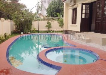 6bed villa Nguyen Van Huong nice pool in compound Thao Dien