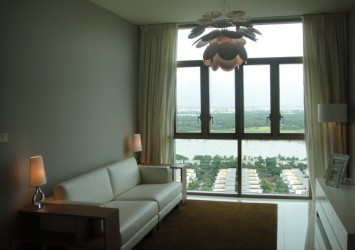 The Vista riverview Apartment for rent with 2 bedrooms and high floor